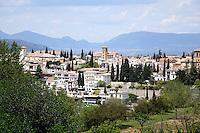 Granada from the Alahambra