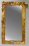 Mirror. Los Angeles, California, USA, ca. 1974. Designed and made by Jim Dine (American, b. 1935). Gilt wood and molded plaster, mirrored glass. H x W x D: 130 x 78.5 x 7.5 cm (51 3/16 x 30 7/8 x 2 15/16 in.). Gift of Thomas Ettinghausen in memory of Richard Ettinghausen, 1990-169-1.