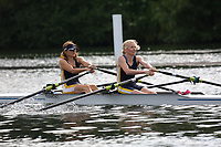 Race: 121  W.MasD.2x  Semi-Final<br /> 292  Lea Rowing Club<br /> 295  Eton Excelsior Rowing Club<br /> <br /> Henley Masters Regatta 2018 - Friday<br /> <br /> To purchase this photo, or to see pricing information for Prints and Downloads, click the blue 'Add to Cart' button at the top-right of the page.