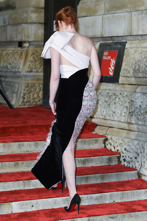 Eleanor Tomlinson<br /> arriving for the BAFTA Film Awards 2019 at the Royal Albert Hall, London<br /> <br /> ©Ash Knotek  D3478  10/02/2019
