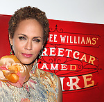 Nicole Ari Parker.attending the Broadway Opening Night After Party for 'A Streetcar Named Desire' on 4/22/2012 at the Copacabana in New York City.