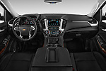 Straight dashboard view of a 2015 Chevrolet Tahoe 2WD LT 5 Door SUV