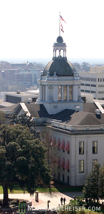 The Florida State Capitol building and Tallahassee skyline February 20, 2003.  (Photo by Mark Wallheiser/TallahasseeStock.com)  (Mark Wallheiser/TallahasseeStock.com)