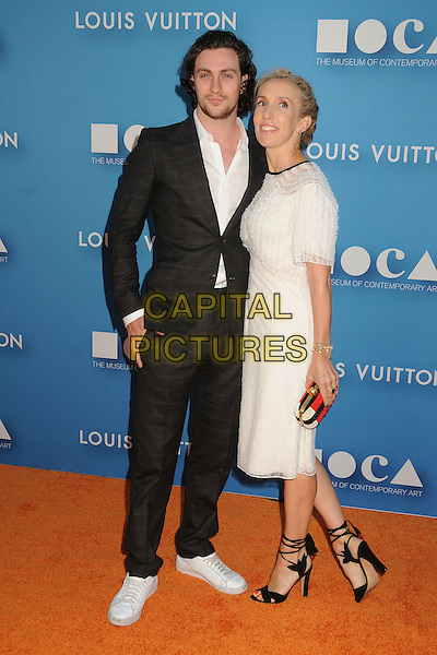 30 May 2015 - Los Angeles, California - Aaron Taylor-Johnson, Sam Taylor-Johnson. MOCA Gala 2015 held at The Geffen Contemporary at MOCA. <br /> CAP/ADM/BP<br /> &copy;BP/ADM/Capital Pictures