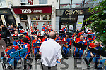 Crumlin Brass Band entertaining crowds on the Main Street as Killarney 4th of July Celebrations continue. Photo by Marek Hajdasz www.mhphotos.ie