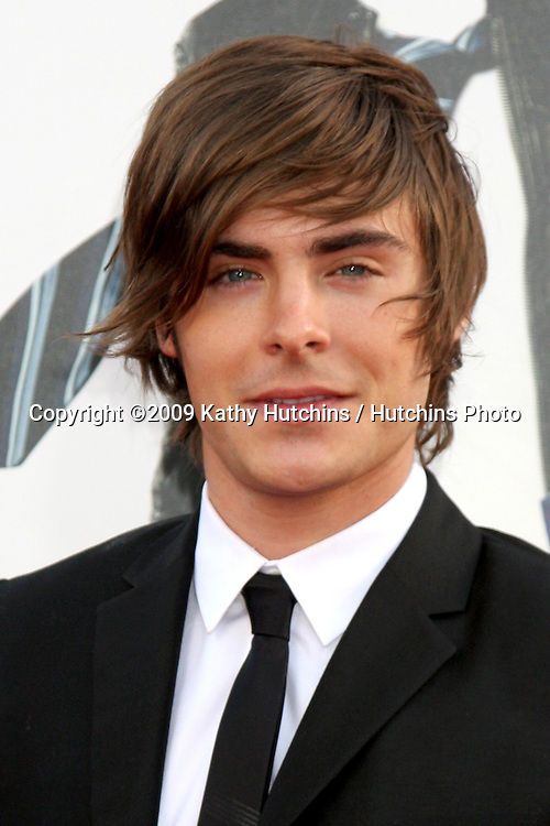 Zac Efron  arriving at the 17 Again Premiere at Grauman's Chinese Theater in Los Angeles, CA on April 14, 2009.©2009 Kathy Hutchins / Hutchins Photo....                .