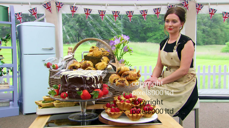 Pic shows: BBC Great British Bake Off final 2016<br /> showstopper hamper by<br /> Candice<br /> wins the final<br /> beating Andrew and Jane <br /> <br /> Pic supplied by Pixel8000 Ltd