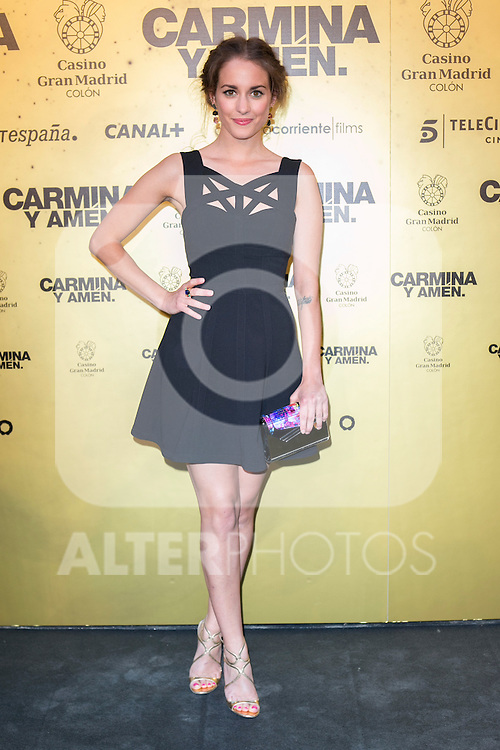 """Spanish Actress Silvia Alonso attend the Premiere of the movie """"Carmina y Amen"""" at the Callao Cinema in Madrid, Spain. April 28, 2014. (ALTERPHOTOS/Carlos Dafonte)"""