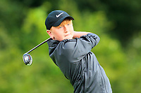 Tommy M Heneghan (Castlebar) on the 1st tee during the Connacht U12, U14, U16, U18 Close Finals 2019 in Mountbellew Golf Club, Mountbellew, Co. Galway on Monday 12th August 2019.<br /> <br /> Picture:  Thos Caffrey / www.golffile.ie<br /> <br /> All photos usage must carry mandatory copyright credit (© Golffile | Thos Caffrey)