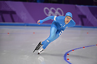 OLYMPIC GAMES: PYEONGCHANG: 15-02-2018, Gangneung Oval, Long Track, 10.000m Men, Nicola Tumolero (ITA), ©photo Martin de Jong