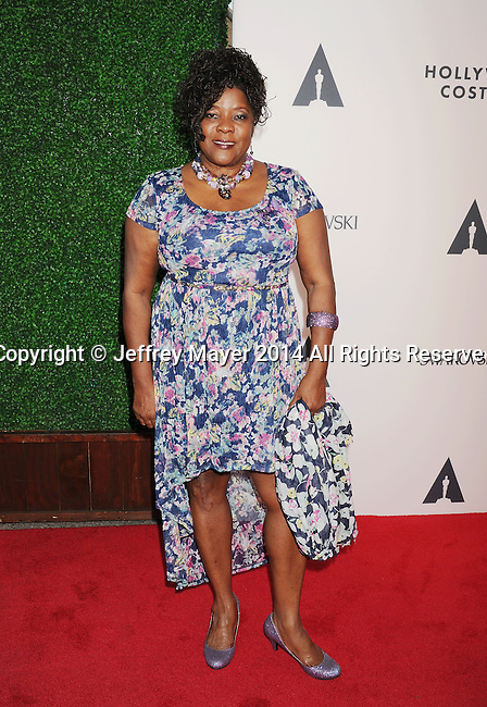 LOS ANGELES, CA- OCTOBER 01: Actress Loretta Devine attends The Academy of Motion Picture Arts and Sciences' Hollywood Costume Opening Party at the Wilshire May Company Building on October 1, 2014 in Los Angeles, California.