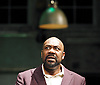 The Comedy of Errors<br /> by William Shakespeare<br /> directed by Dominic Cooke<br /> at the Olivier Theatre, NT, Southbank, London, Great Britain <br /> Press photocall<br /> 28th November 2011 <br /> <br /> Lenny Henry (as Antipholus of Syracuse)<br /> <br /> Lucian Msamati (as Dromio of Syracuse)<br /> <br /> Daniel Poyser (as Dromio of Ephesus)<br /> <br /> Adrian Hood (as The Officer)<br /> <br /> Chris Jarman (as Antipholus of Ephesus)<br /> <br /> Claudie Blakley (as Ephesus))<br /> <br /> Michelle Terry (as Luciana )<br /> <br /> Photograph by Elliott Franks
