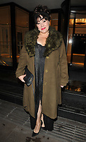 Harriet Thorpe at the Children With Cancer Ball, Grosvenor House Hotel, Park Lane, London, England, UK, on Saturday 11 November 2017.<br /> CAP/CAN<br /> &copy;CAN/Capital Pictures