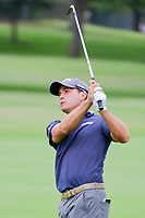 Kevin Kisner (USA) watches his approach shot on 1 during round 4 of the Dean &amp; Deluca Invitational, at The Colonial, Ft. Worth, Texas, USA. 5/28/2017.<br /> Picture: Golffile | Ken Murray<br /> <br /> <br /> All photo usage must carry mandatory copyright credit (&copy; Golffile | Ken Murray)