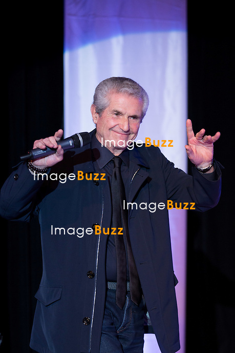 Claude Lelouch lors de la soir&eacute;e d'ouverture du 27&egrave;me Festival du film britannique de Dinard. <br /> France, Dinard, 29 septembre 2016.<br /> Opening night of 27th Edition of the Dinard British Film Festival.<br /> France, Dinard, 29 September 2016.