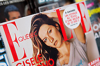 A copy of Elle Quebec magazine is seen on display in a convenient store in Quebec City February 26, 2009