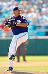 18 March 2006: Chad Cordero, all-star pitcher for the Washington Nationals, on the mound for the first time since returning from his WBC appearance with Team USA, during a Spring Training game against the New York Mets. The Nationals defeated the Mets 10-2 at Space Coast Stadium, in Viera, Florida...Mandatory Photo Credit: Ed Wolfstein..