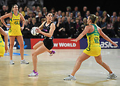 5th October 2017, Spark Arena, Auckland, New Zealand; Constellation Cup, New Zealand Silver Ferns versus Australia Diamonds;   New Zealand's Kayla Cullen