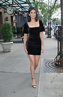 NEW YORK, NY August 08: Nina Dobrev seen in New York City on August 08, 2018. <br /> CAP/MPI/RW<br /> &copy;RW/MPI/Capital Pictures