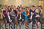Pictured at the Kerry Stars Black Tie ball in The Malton on Friday night were Noel and Marie O'Connell, Rory and Siobhan Darcy, Noel and Janet O'Sullivan, Johnny and Noreen Allen, Kieran and Mary O'Callaghan, Eilish O'Donoghue, Mairead Kerrisk, Neil and Marie O'Sullivan, Angela and Basil Sheerin, Bridget kealy, Andy and Sheila Goulding, Ger Lynch, Eilish McCarthy and Noreen Coffey.