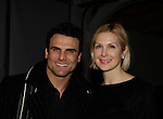 Jeremy Jackson (Baywatch & Santa Barbara) & Kelly Rutherford (Generations, Loving, Melrose Place, Gossip Girl) - Runway Shows presented by RUSK during the fall/winter 2014 Nolcha Fashion Week - spotlighting independent designers on February 12, 2014 at Pier 59, New York City, New York.  (Photo by Sue Coflin/Max Photos)
