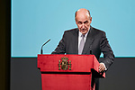 Miquel Roca attends to the Reading of the Spanish Constitution for the 40th anniversary of its approval by the Congress at Instituto Cervantes in Madrid, Spain. October 31, 2018. (ALTERPHOTOS/A. Perez Meca)