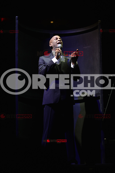 MIAMI, FL - SEPTEMBER 30: Donnie McClurkin performs during 'The King's Men' concert at American Airlines Arena on September 30, 2012 in Miami, Florida. © MPI10/MediaPunch Inc /NortePhoto