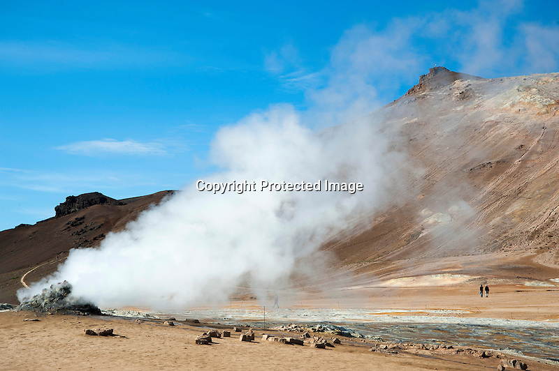Geothermal Vent Iceland