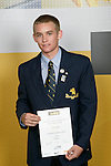 Boys Hockey winner Shay Neal. ASB College Sport Young Sportperson of the Year Awards 2007 held at Eden Park on November 15th, 2007.