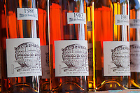 Armagnac. 1986, 1983, 1981. Bordeaux city, Aquitaine, Gironde, France