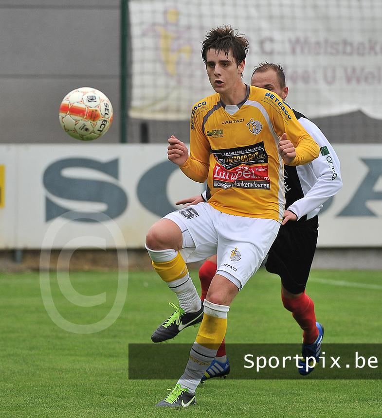 SC Wielsbeke : Robbe Dekiere<br /> foto VDB / Bart Vandenbroucke