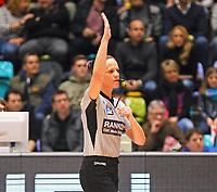 Schiedsrichterin Anne Panther - 04.02.2018: Fraport Skyliners vs. MHP Riesen Ludwigsburg, Fraport Arena Frankfurt