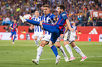 Deportivo Alaves's defender Alexis Ruano and FC Barcelona's forward Leo Messi during Copa del Rey (King's Cup) Final between Deportivo Alaves and FC Barcelona at Vicente Calderon Stadium in Madrid, May 27, 2017. Spain.<br /> (ALTERPHOTOS/BorjaB.Hojas) /NortePhoto.com