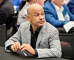 LOUISVILLE, KENTUCKY - APRIL 30: Jockey Mike Smith at the Post Position Draw for the 145th Kentucky Derby at Churchill Downs in Louisville, Kentucky on April 30, 2019. Scott Serio/Eclipse Sportswire/CSM