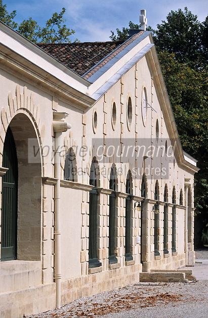 Europe/France/Aquitaine/33/Gironde/Macau: Le Château Cantemerle (AOC Haut-Médoc) - Le chai