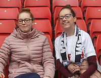 Preston North End's Fans anticipate the kick-off<br /> <br /> Photographer Mick Walker/CameraSport<br /> <br /> The EFL Sky Bet Championship - Sheffield United v Preston North End - Saturday 22 September 2018 - Bramall Lane - Sheffield<br /> <br /> World Copyright © 2018 CameraSport. All rights reserved. 43 Linden Ave. Countesthorpe. Leicester. England. LE8 5PG - Tel: +44 (0) 116 277 4147 - admin@camerasport.com - www.camerasport.com