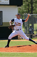 March 29, 2005:  Pitcher Dennis Raben of St. Thomas High School during a game at Bishop Moore Catholic High School in Orlando, FL.  Raben got the win on the mound defeating nationally top ranked Monsignor Pace.  Raben attended Miami University and was drafted in the 2nd round of the 2008 MLB amateur draft by the Seattle Mariners as an outfielder.  Photo By Mike Janes/Four Seam Images