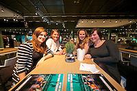 Rotterdam, The Netherlands, Februari 8, 2016,  ABNAMROWTT, Shop & Bites<br /> Photo: Tennisimages/Henk Koster