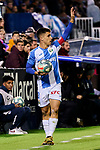 Unai Bustinza of CD Leganes during La Liga match between CD Leganes and Deportivo Alaves at Butarque Stadium in Leganes, Spain. February 29, 2020. (ALTERPHOTOS/A. Perez Meca)
