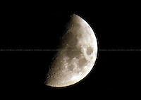 Calabrian Moon. Calabria, Italy - 2009