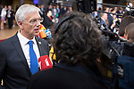 BRUSSELS - BELGIUM - 20 June 2019 -- European Council, summit meeting with heads of state. -- Leaders speaking to the media. Krisjanis Karins Prime Minister of Latvia. -- PHOTO: Juha ROININEN / EUP-IMAGES