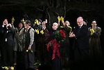 Terrence McNally, Roger Rees, David Garrison, Chita Rivera, director John Doyle and cast during the Broadway Opening Night Performance Curtain Call for 'The Visit'  at the Lyceum Theatre on April 23, 2015 in New York City.