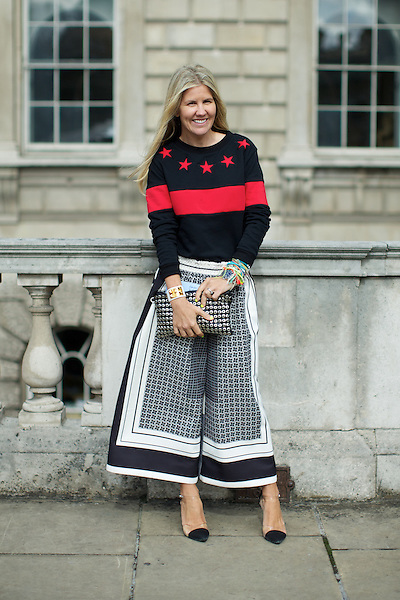 Pippa Holt at  London Fashion Week