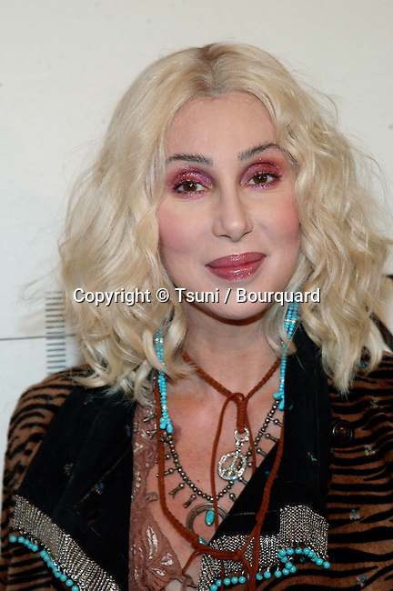 Cher arriving at the mtvICON: Aerosmith held  at Sony Studios in Los Angeles, Ca., April 14, 2002.