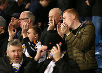 Leeds United fans do their best to enjoy the match at the Hawthorns<br /> <br /> Photographer David Shipman/CameraSport<br /> <br /> The EFL Sky Bet Championship - West Bromwich Albion v Leeds United - Saturday 10th November 2018 - The Hawthorns - West Bromwich<br /> <br /> World Copyright &copy; 2018 CameraSport. All rights reserved. 43 Linden Ave. Countesthorpe. Leicester. England. LE8 5PG - Tel: +44 (0) 116 277 4147 - admin@camerasport.com - www.camerasport.com