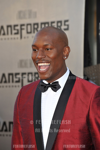 "Tyrese Gibson at the Los Angeles premiere of ""Transformers: Revenge of the Fallen"" at the Mann Village Theatre, Westwood..June 22, 2009  Los Angeles, CA.Picture: Paul Smith / Featureflash"