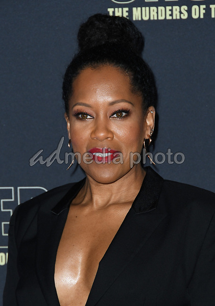 "22 February 2018 - Hollywood, California - Regina King. USA Network's ""Unsolved: The Murders of Tupac & The Notorious B.I.G."" held at Avalon Hollywood. Photo Credit: Birdie Thompson/AdMedia"