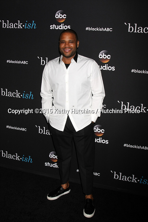 "LOS ANGELES - FEB 17:  Anthony Anderson at the ""Black-ish"" ATAS event at the Silver Screen Theater at Pacific Design Center on April 17, 2015 in Los Angeles, CA"
