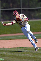 Boston College Eagles INF/OF Barry Butera in action vs. NC Tar Heels at Shea Field March 28, 2009 in Chestnut Hill, MA (Photo by Ken Babbitt/Four Seam Images)