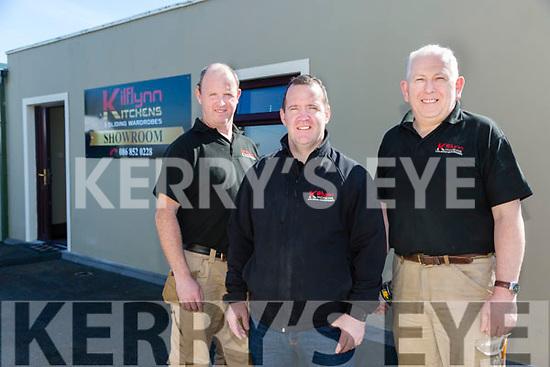 Kilflynn Kitchens - l-r Brian O'Loughlin,  John O'Mahony and Tony O'Connor